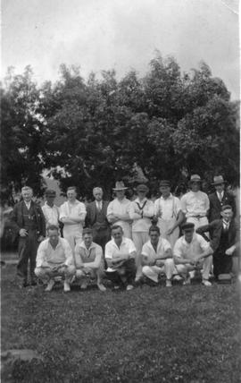 Cadbury Cricket players