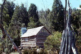 Hut at Lake Meston 1977