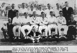 Cadbury Fry Pascall cricket team, Claremont