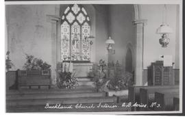 Buckland church interior