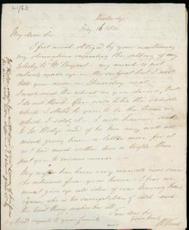 Letter: 16 May 1836