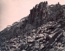 Rocks on  Mount Wellington