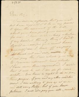 Letter:  undated (October 1842)