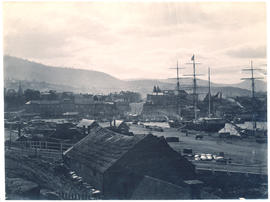 Salamanca and Hobart waterfront