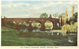 The famous Richmond Bridge, erected 1823