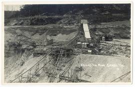 General view of the Briseis Tin mine, Derby