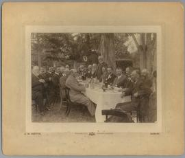 Antarctic Expedition, Carsten E. Borchgreevink:  luncheon at Salmon Ponds