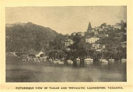 Picturesque view of Tamar and Trevallyn, Launceston, Tasmania