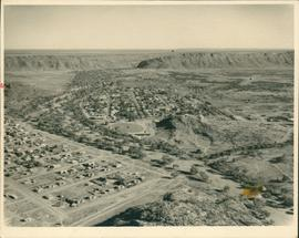 Aerial photograph of Alice Springs