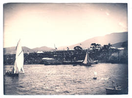 Hobart Regatta Grandstand from the water