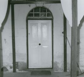 Photograph of doorway at Braeside