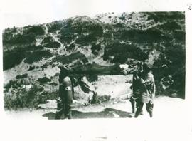 Stretcher bearers at Gallipoli
