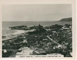 View of Burnie, showing pier
