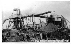 View of the Argent Mine Number 2, Zeehan, Tasmania