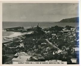 View of Burnie showing pier