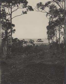 Rocky Hills: convict buildings in distance