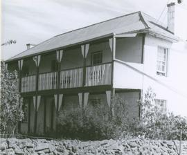 Photograph of front view of Braeside