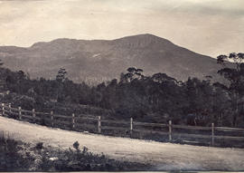 View to Mt Wellington from Huon Road