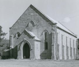 Photograph of front view of St Augustine's Anglican Church