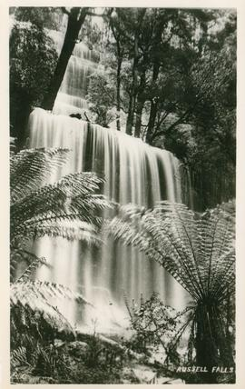 Postcard of Russell Falls