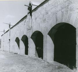 Photograph of stables at Strathelie
