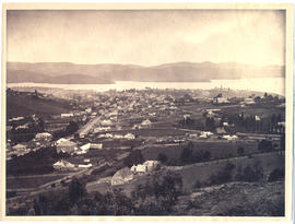Hobart from Huon Road looking east