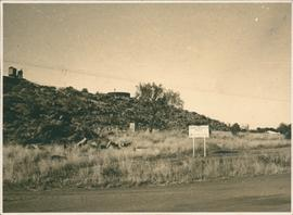 Photograph of site for proposed Central Australian Museum  and Constitution of proposed museum.