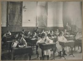 Photograph of children in a classroom