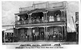 View of the Central Hotel, Zeehan, Tasmania