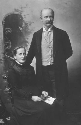 Registrar, James Henry Robert Cruickshank and his wife Mary