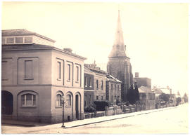 Photograph of the Oddfellows Hall and Congregational Church