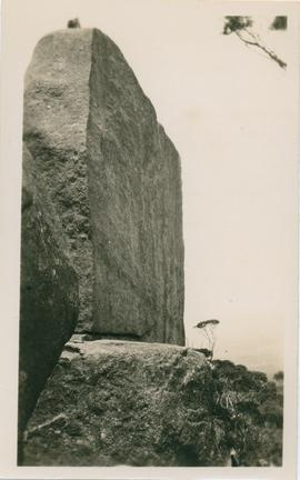 Photograph of rock