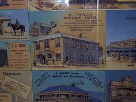 View of Montagu Hotel, Bowes street Queenstown Tasmania