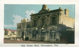 The Town Hall, Devonport, Tas.