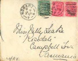 Letter from Matt Seal: July 9 1893
