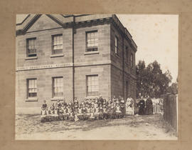 Photograph of Industrial School, Barrack Square