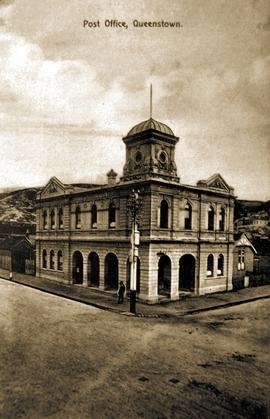 View of the Post Office, Queenstown, Tasmania