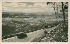 Postcard of view from Mount Wellington