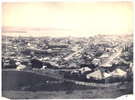 View of Hobart from West Hobart