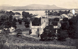 Port Arthur from behind the church