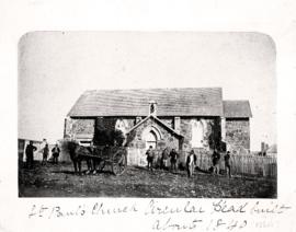 Photograph of St. Pauls Church, Stanley