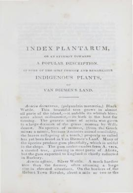 Index Plantarum