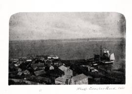 Photographic view of the wharf at Stanley, Circular Head