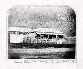"Photograph of ""Aunt Charlottes"" cottage at Circular Head"