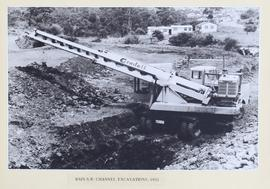 Main south west channel excavation