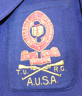Detail of Rifle Club blazer pocket