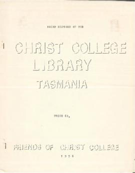 Brief History of the Christ College Library