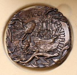 verso-The Royal Society of Tasmania Medal