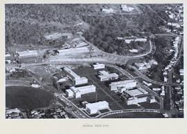 Aerial view of the Sandy Bay Campus