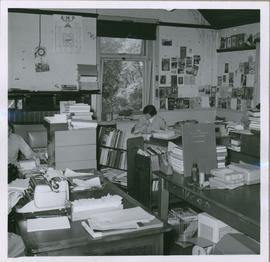 Library workroom